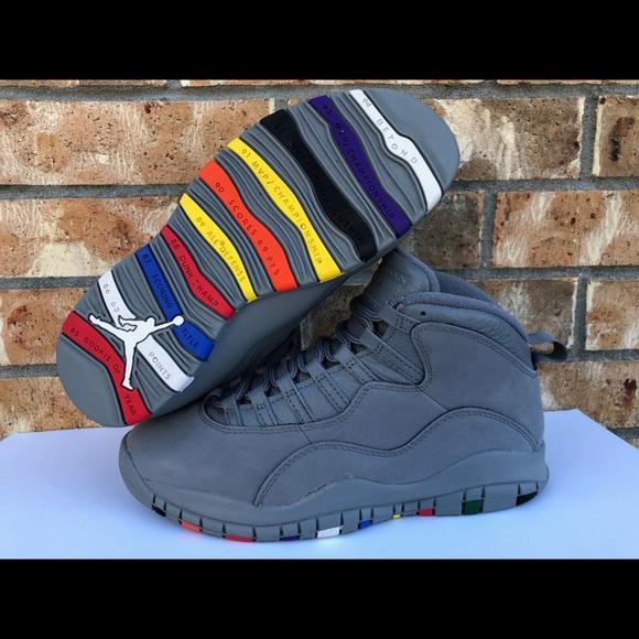 f99765a5ccde Jordan Other - Men s Nike Air Jordan 10 X Retro Cool Grey Size 8